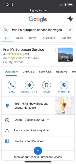 Frank's European GMB