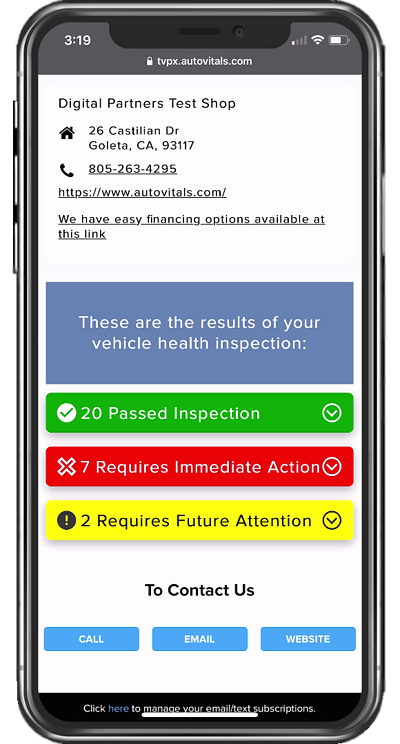 DVI - Motorist UX - Phone inspection 3 colors