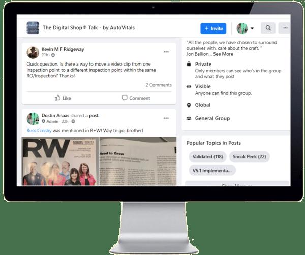The Digital Shop Talk Facebook